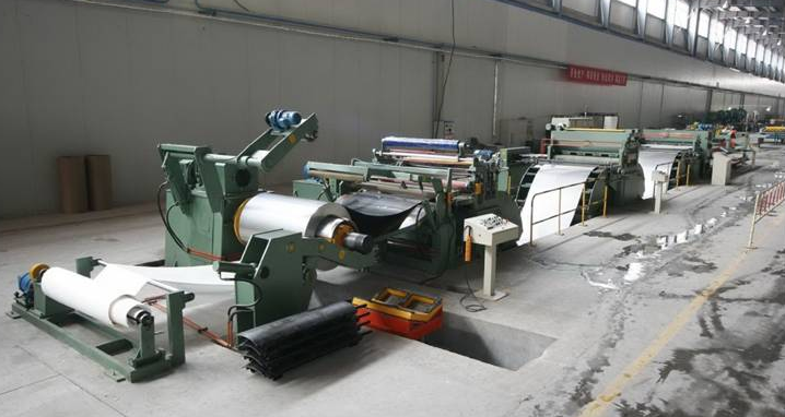 Al coil slitting line was installed to enhance productivity so as to cope with the expansion of a customer's requirement.